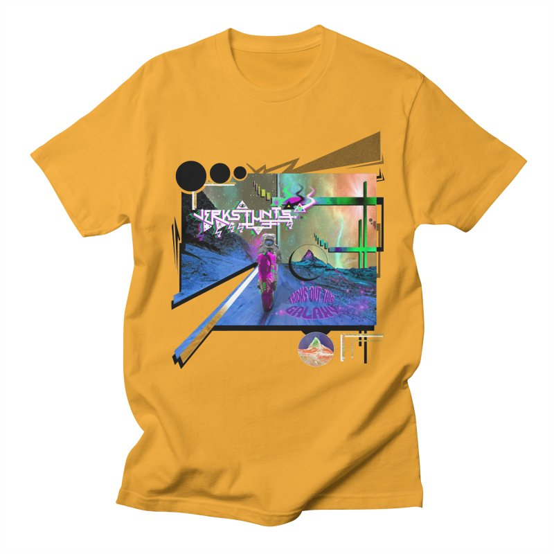 JERKSTUNTS TRICKS OUT THIS GALAXY Men's T-Shirt by ExploreDaily's Artist Shop