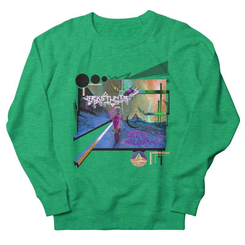 JERKSTUNTS TRICKS OUT THIS GALAXY Women's Sweatshirt by ExploreDaily's Artist Shop