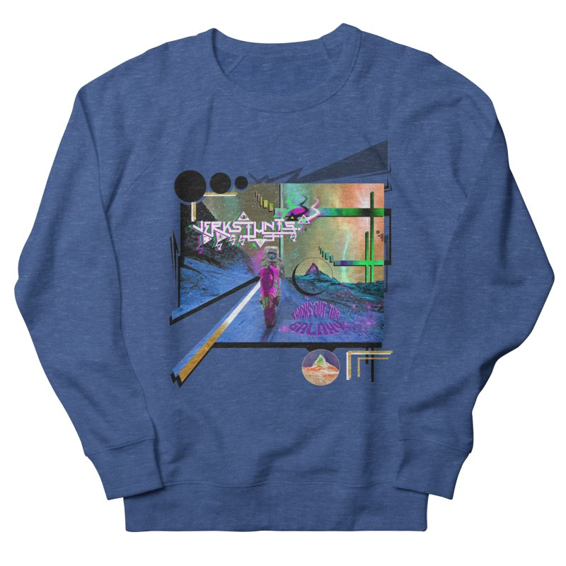 JERKSTUNTS TRICKS OUT THIS GALAXY Men's Sweatshirt by ExploreDaily's Artist Shop