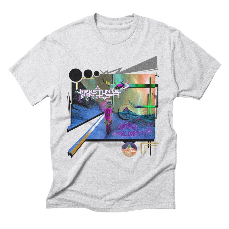 JERKSTUNTS TRICKS OUT THIS GALAXY Men's Triblend T-Shirt by ExploreDaily's Artist Shop