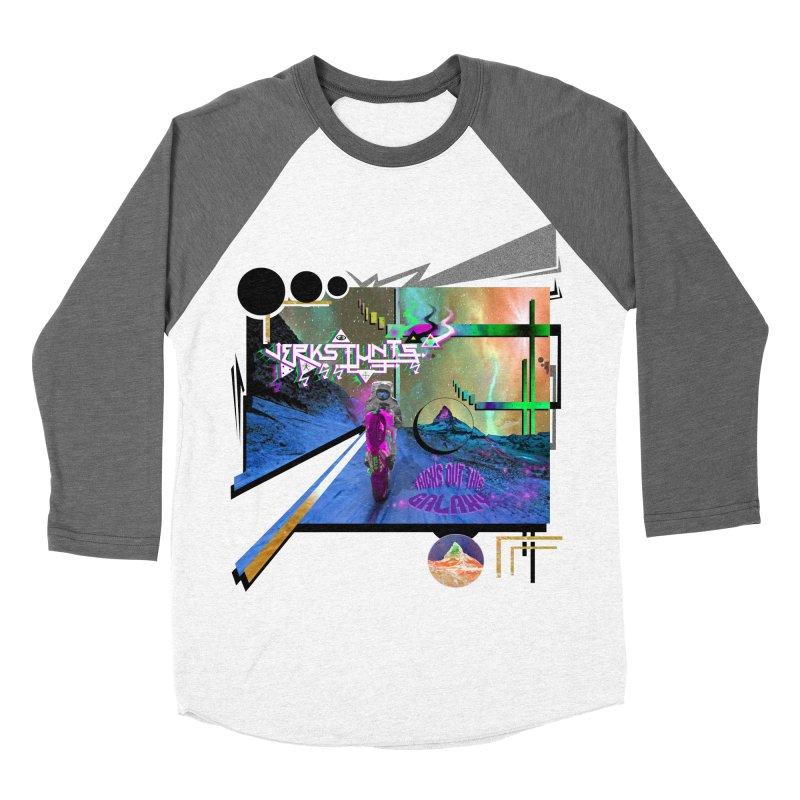 JERKSTUNTS TRICKS OUT THIS GALAXY Women's Longsleeve T-Shirt by ExploreDaily's Artist Shop