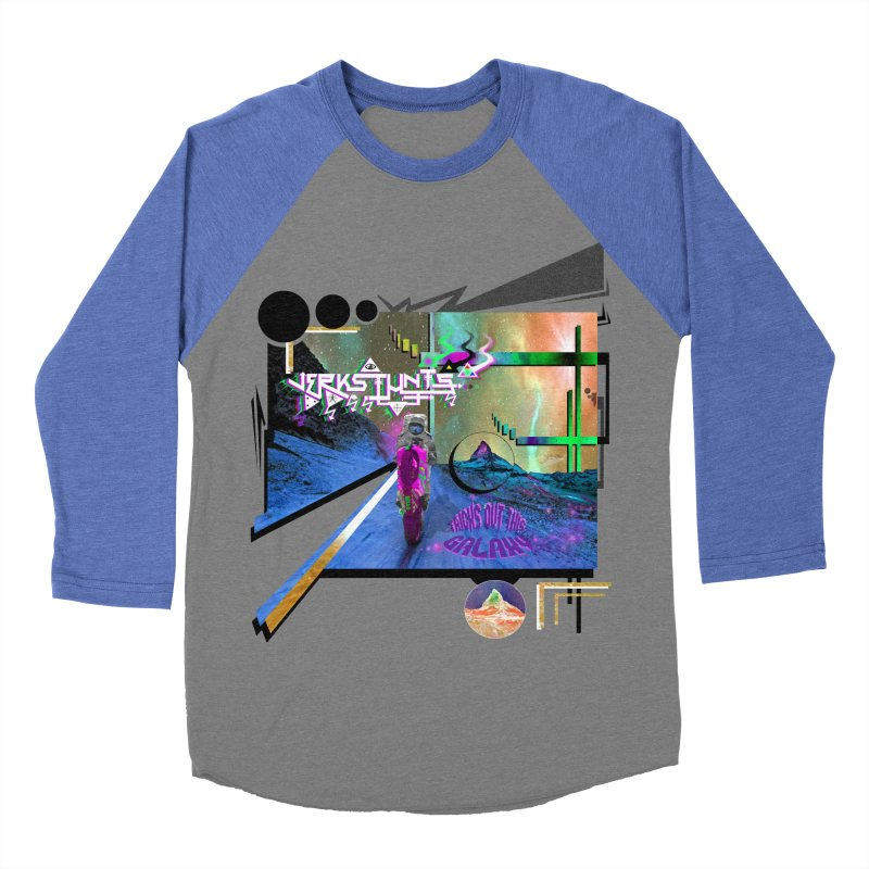 JERKSTUNTS TRICKS OUT THIS GALAXY Women's Baseball Triblend Longsleeve T-Shirt by ExploreDaily's Artist Shop