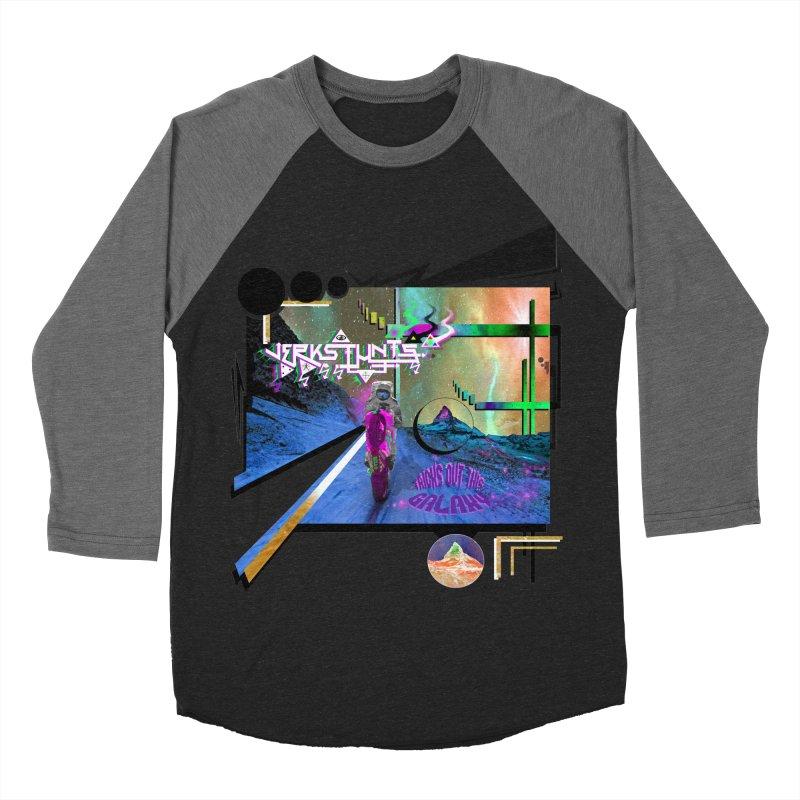 JERKSTUNTS TRICKS OUT THIS GALAXY Women's Baseball Triblend Longsleeve T-Shirt by ExploreDaily's Artist Shop