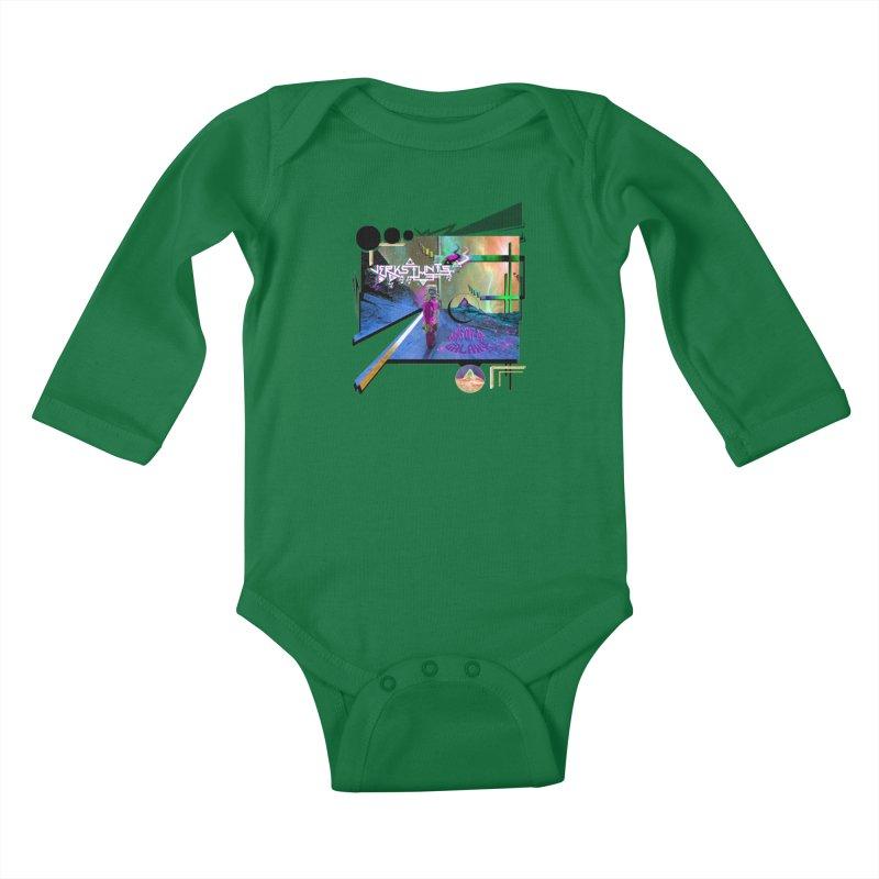 JERKSTUNTS TRICKS OUT THIS GALAXY Kids Baby Longsleeve Bodysuit by ExploreDaily's Artist Shop