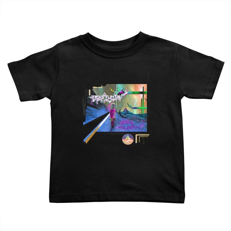 JERKSTUNTS TRICKS OUT THIS GALAXY Kids Toddler T-Shirt by ExploreDaily's Artist Shop