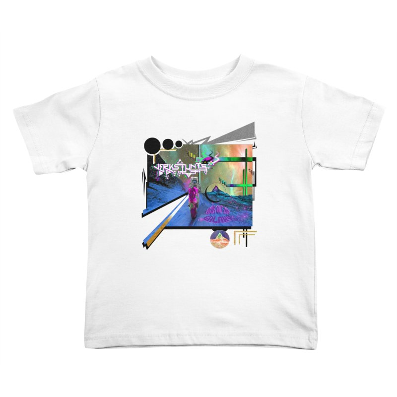 JERKSTUNTS TRICKS OUT THIS GALAXY Kids Toddler T-Shirt by ExploreDaily's Artist Shop