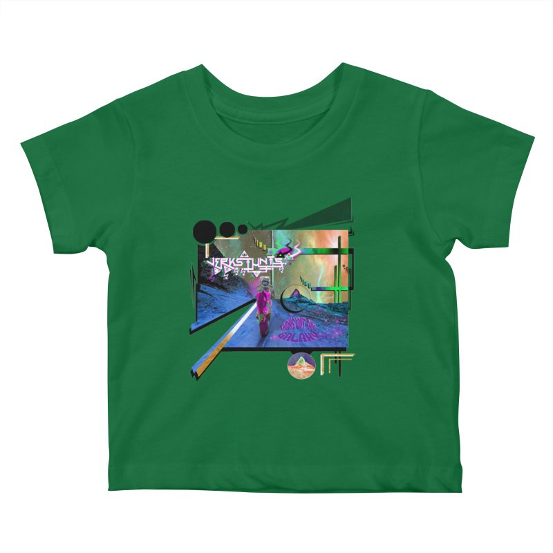 JERKSTUNTS TRICKS OUT THIS GALAXY Kids Baby T-Shirt by ExploreDaily's Artist Shop