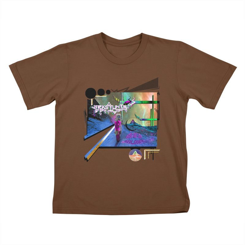 JERKSTUNTS TRICKS OUT THIS GALAXY Kids T-Shirt by ExploreDaily's Artist Shop
