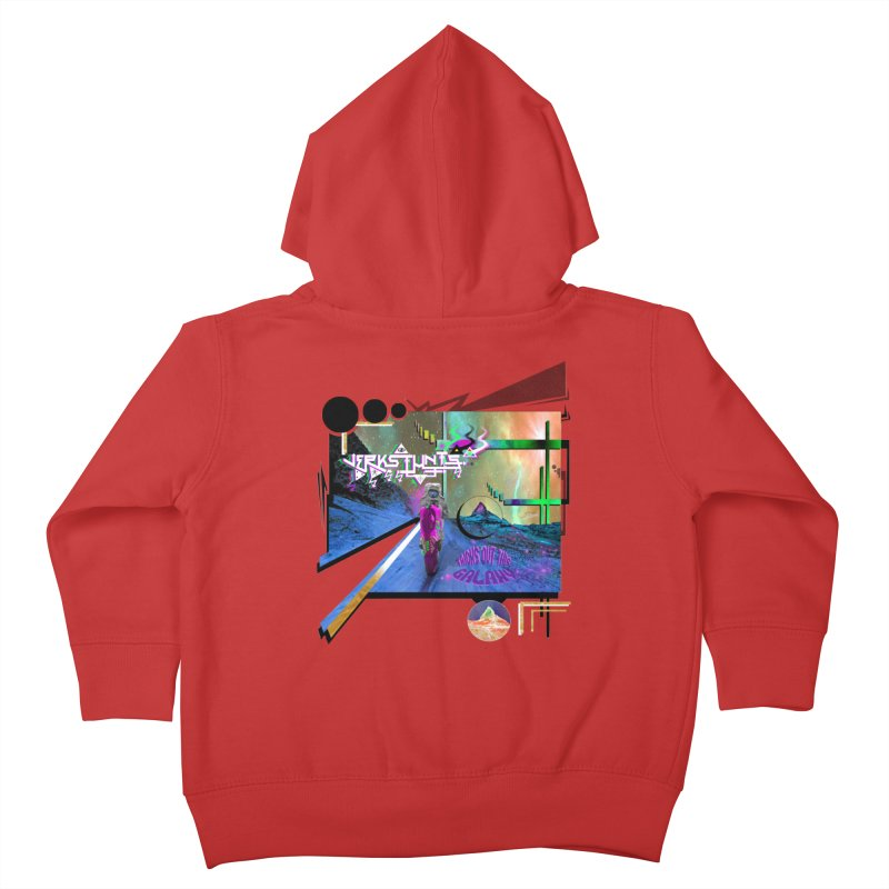 JERKSTUNTS TRICKS OUT THIS GALAXY Kids Toddler Zip-Up Hoody by ExploreDaily's Artist Shop