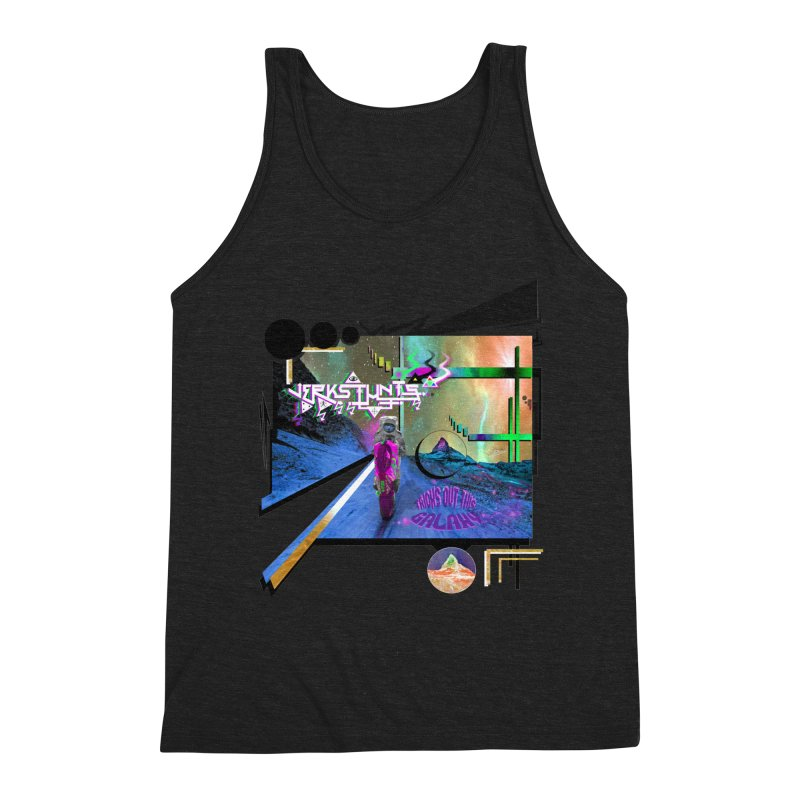 JERKSTUNTS TRICKS OUT THIS GALAXY Men's Triblend Tank by ExploreDaily's Artist Shop