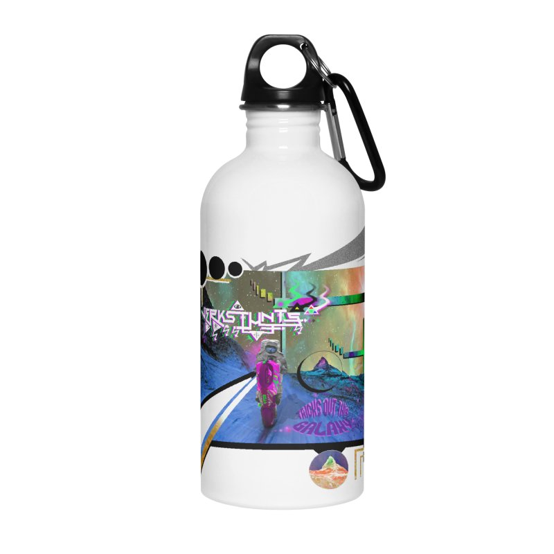 JERKSTUNTS TRICKS OUT THIS GALAXY Accessories Water Bottle by ExploreDaily's Artist Shop