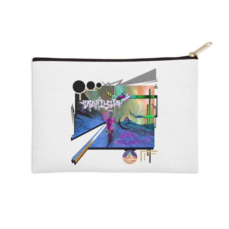 JERKSTUNTS TRICKS OUT THIS GALAXY Accessories Zip Pouch by ExploreDaily's Artist Shop