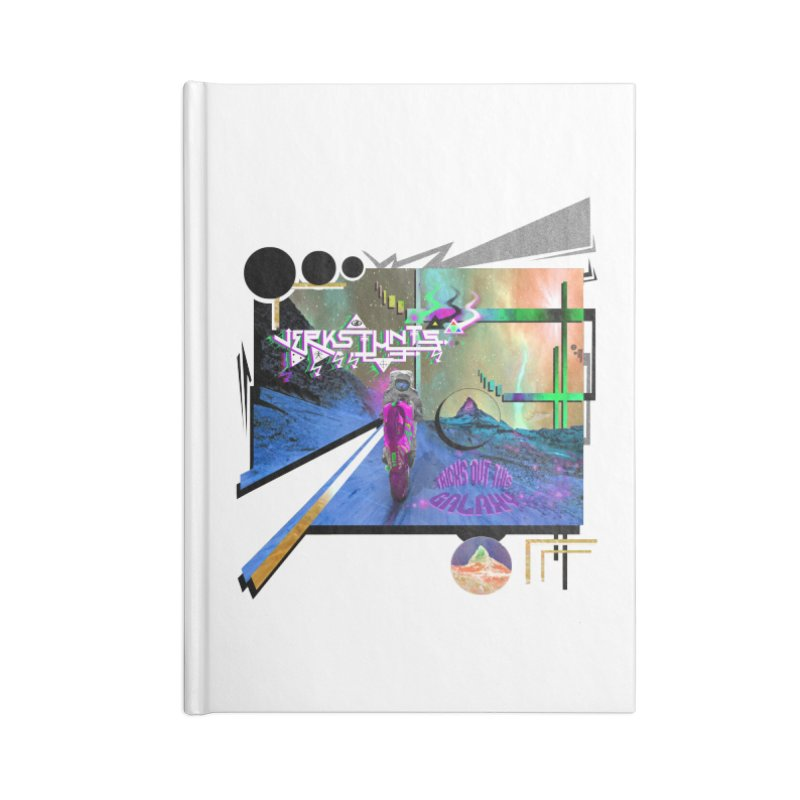 JERKSTUNTS TRICKS OUT THIS GALAXY Accessories Lined Journal Notebook by ExploreDaily's Artist Shop