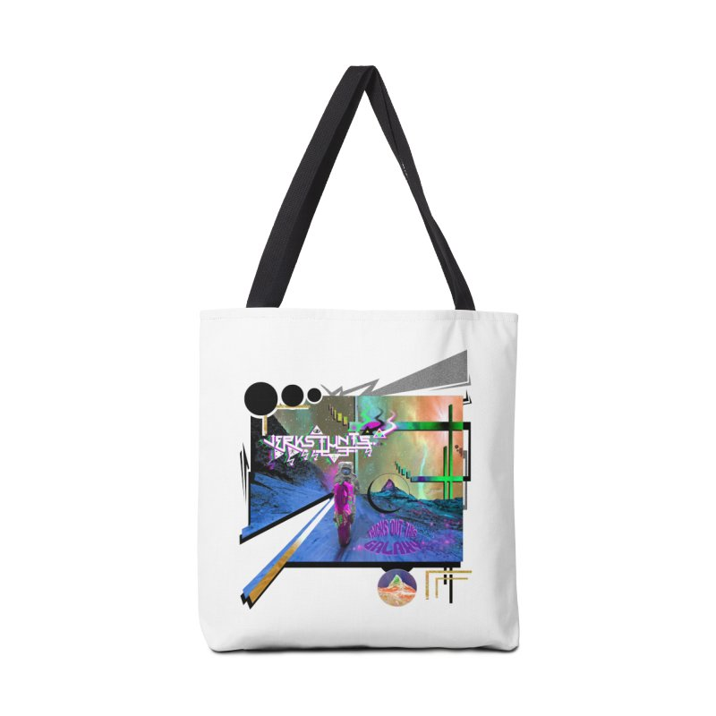 JERKSTUNTS TRICKS OUT THIS GALAXY Accessories Bag by ExploreDaily's Artist Shop