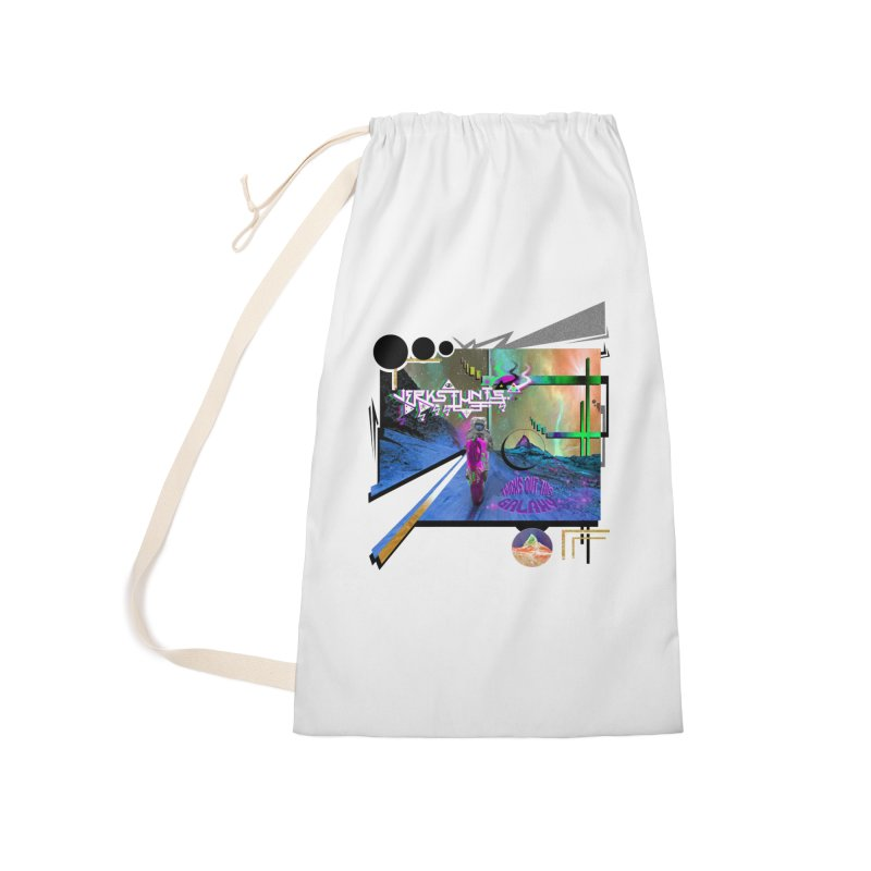 JERKSTUNTS TRICKS OUT THIS GALAXY Accessories Laundry Bag Bag by ExploreDaily's Artist Shop