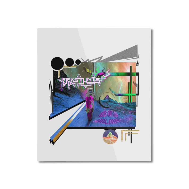 JERKSTUNTS TRICKS OUT THIS GALAXY Home Mounted Aluminum Print by ExploreDaily's Artist Shop