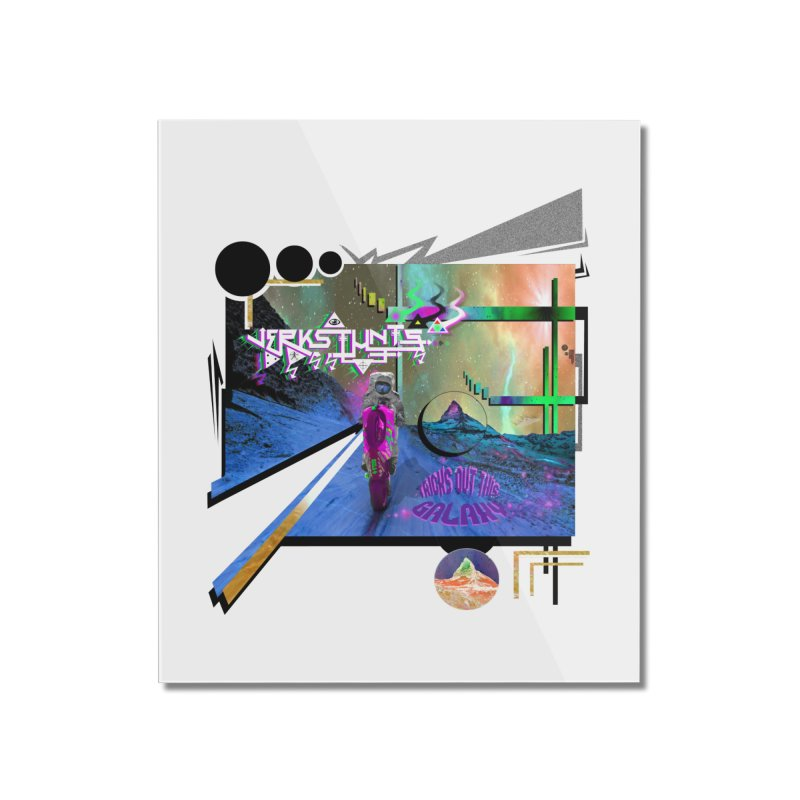 JERKSTUNTS TRICKS OUT THIS GALAXY Home Mounted Acrylic Print by ExploreDaily's Artist Shop