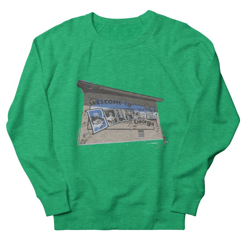 Welcome to Brunswick, Georgia Women's Sweatshirt by Explore Jekyll Island Official Gear