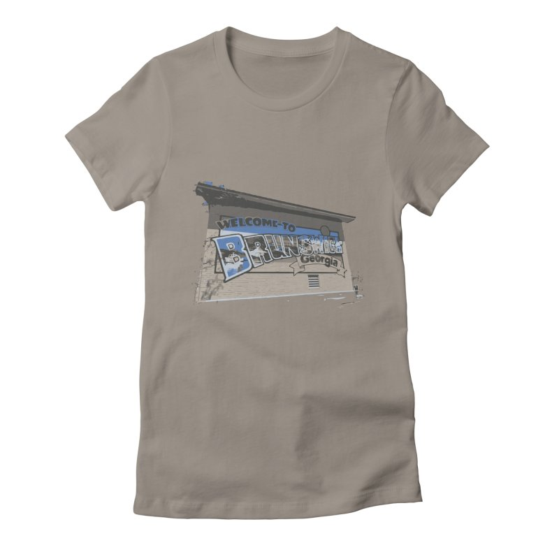 Welcome to Brunswick, Georgia Women's T-Shirt by Explore Jekyll Island Official Gear