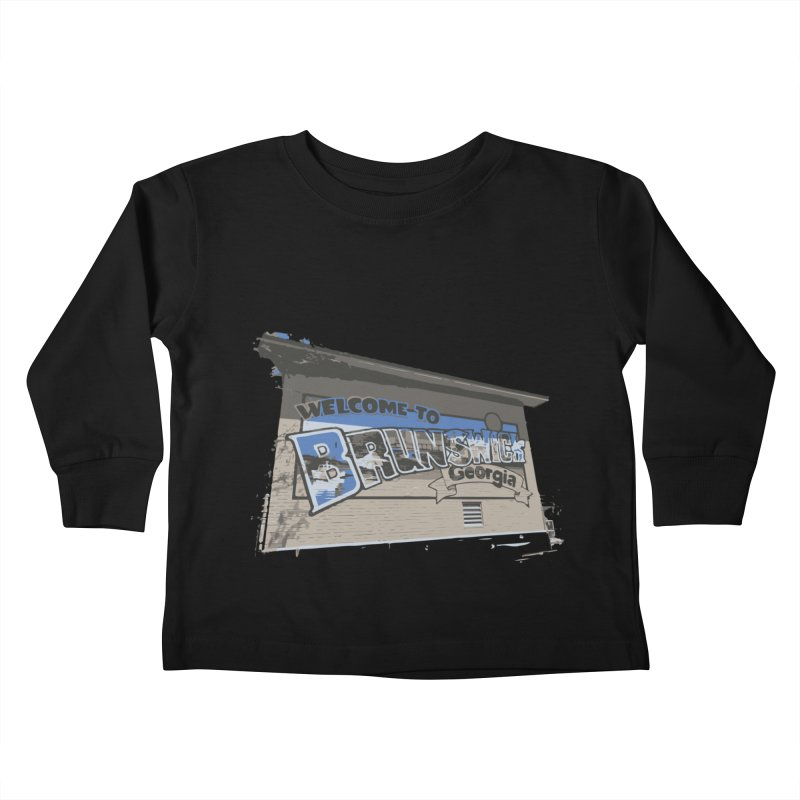 Welcome to Brunswick, Georgia Kids Toddler Longsleeve T-Shirt by Explore Jekyll Island Official Gear