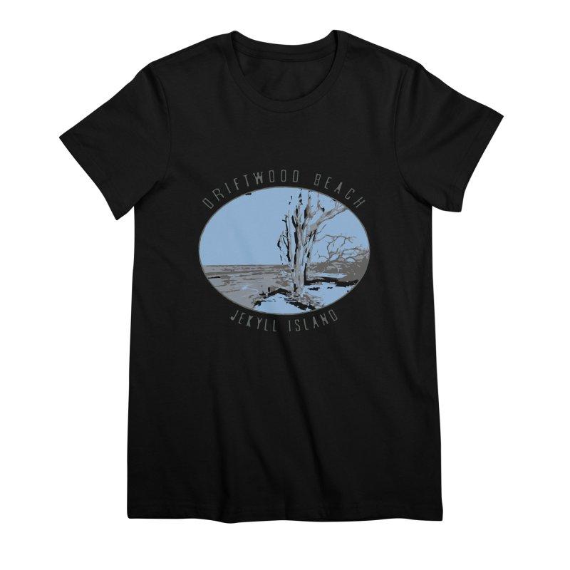 Driftwood Beach Jekyll Island Women's T-Shirt by Explore Jekyll Island Official Gear