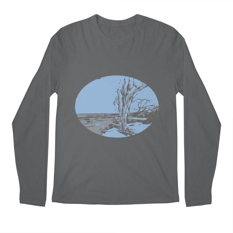 Driftwood Beach Jekyll Island Men's Longsleeve T-Shirt by Explore Jekyll Island Official Gear