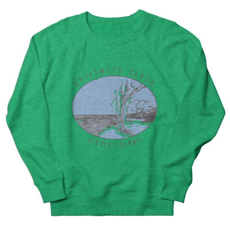 Driftwood Beach Jekyll Island Women's Sweatshirt by Explore Jekyll Island Official Gear