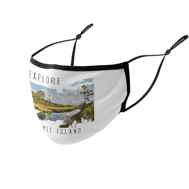 Explore Jekyll Island Accessories Face Mask by Explore Jekyll Island Official Gear