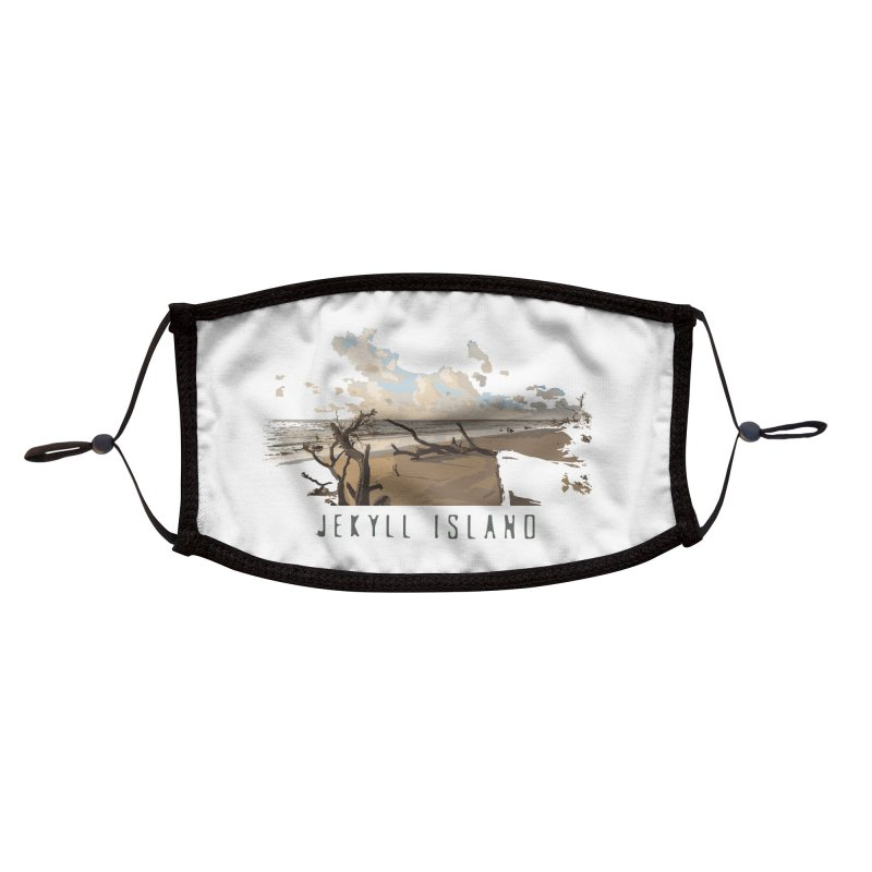 Jekyll Island Accessories Face Mask by Explore Jekyll Island Official Gear