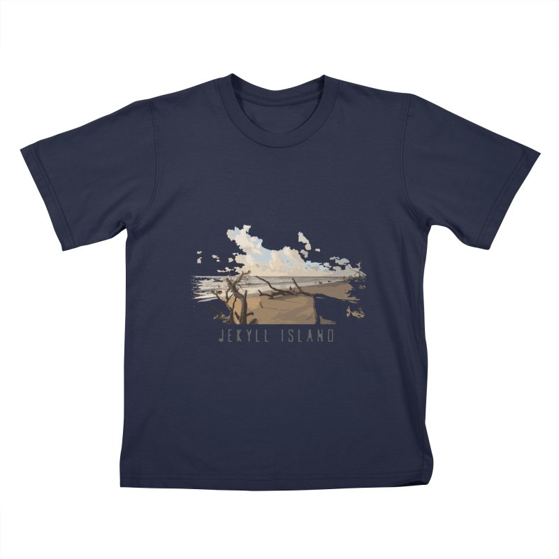 Jekyll Island Kids T-Shirt by Explore Jekyll Island Official Gear