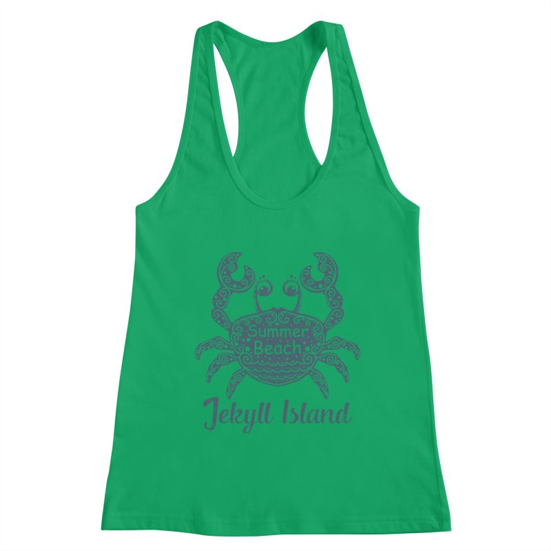 Jekyll Island Summer Beach Women's Tank by Explore Jekyll Island Official Gear