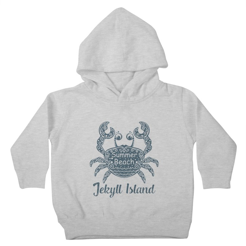 Jekyll Island Summer Beach Kids Toddler Pullover Hoody by Explore Jekyll Island Official Gear