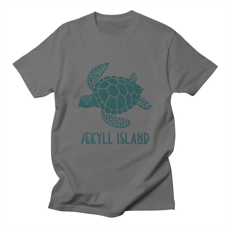 Jekyll Island Sea Turtle Men's T-Shirt by Explore Jekyll Island Official Gear