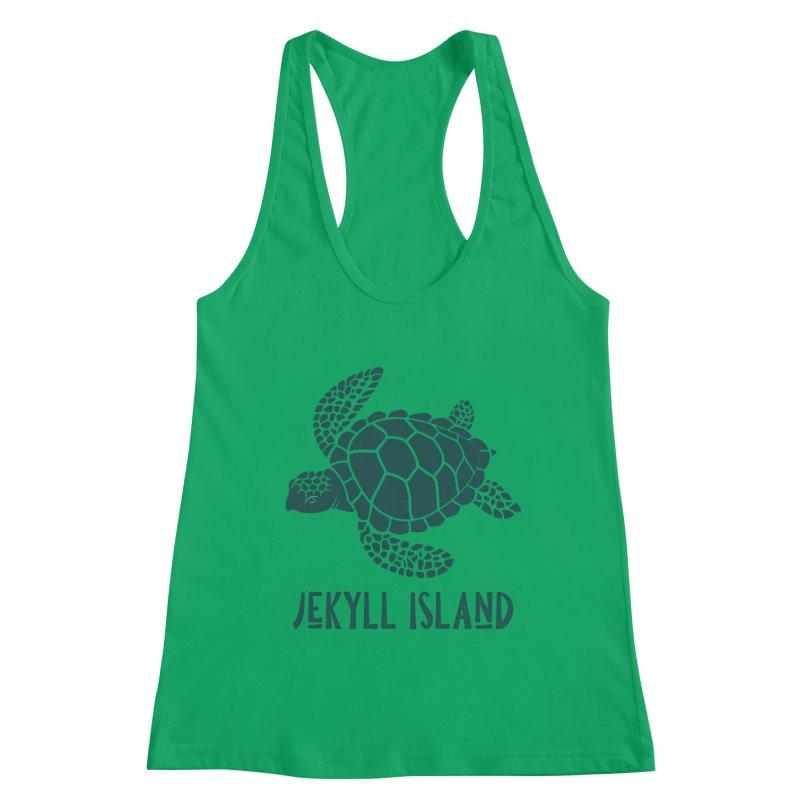 Jekyll Island Sea Turtle Women's Tank by Explore Jekyll Island Official Gear