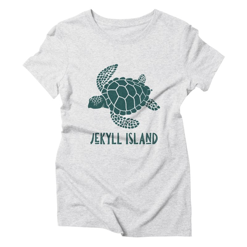 Jekyll Island Sea Turtle Women's T-Shirt by Explore Jekyll Island Official Gear
