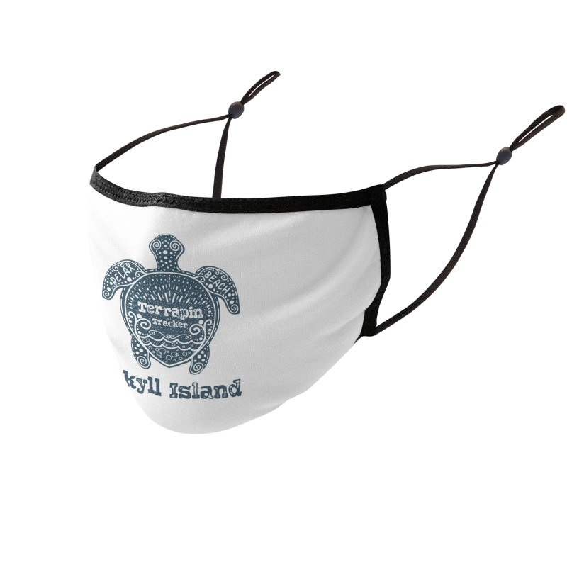 Jekyll Island Terrapin Tracker Accessories Face Mask by Explore Jekyll Island Official Gear