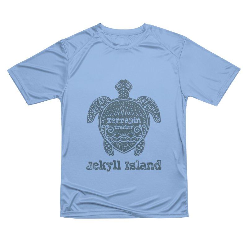 Jekyll Island Terrapin Tracker Men's T-Shirt by Explore Jekyll Island Official Gear