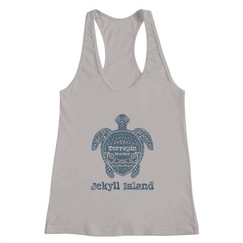 Jekyll Island Terrapin Tracker Women's Tank by Explore Jekyll Island Official Gear