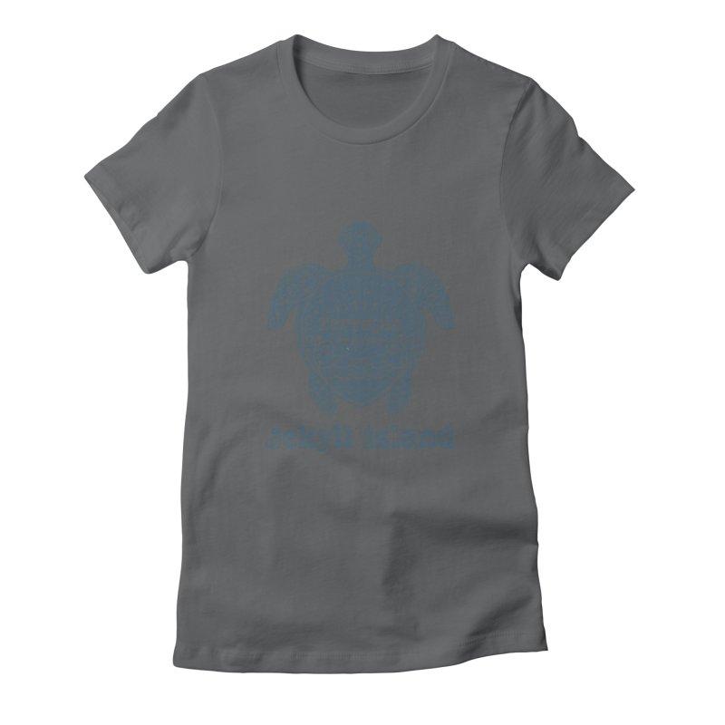 Jekyll Island Terrapin Tracker Women's T-Shirt by Explore Jekyll Island Official Gear