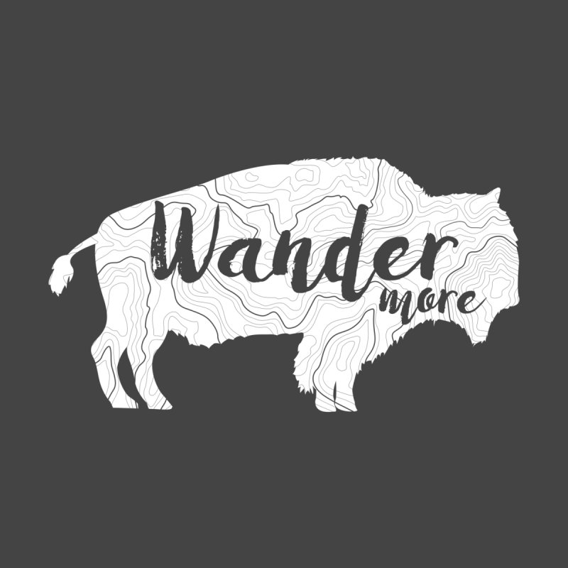 The Wandering Buffalo Men's T-Shirt by Wanderluster