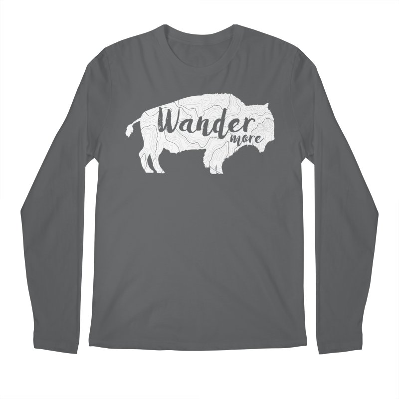 The Wandering Buffalo Men's Longsleeve T-Shirt by Wanderluster
