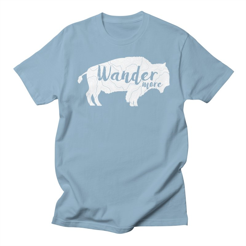 The Wandering Buffalo Men's Regular T-Shirt by Wanderluster