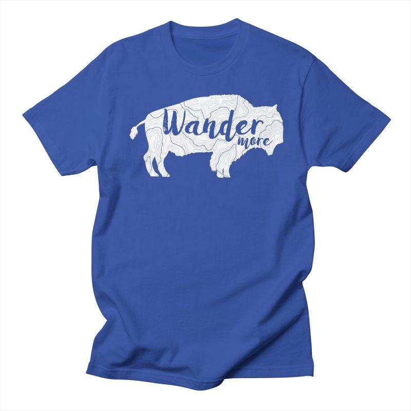 The Wandering Buffalo Men's T-Shirt by Wanderluster