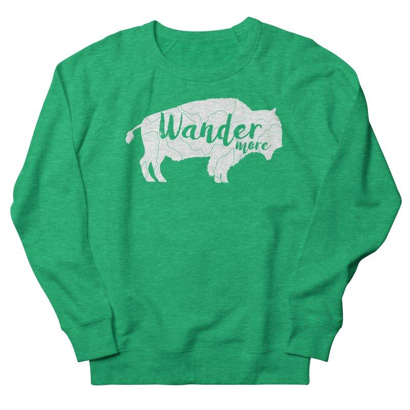 The Wandering Buffalo Women's Sweatshirt by Wanderluster