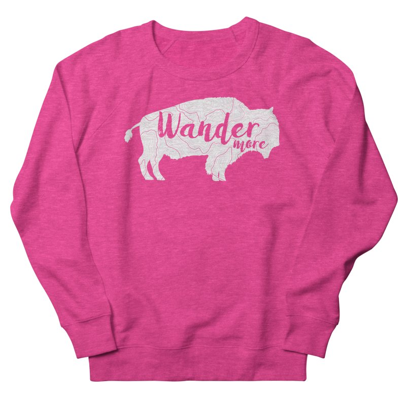 The Wandering Buffalo Women's French Terry Sweatshirt by Wanderluster