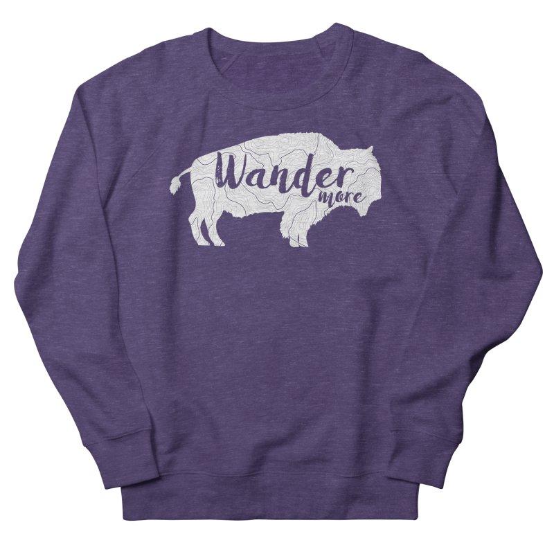 The Wandering Buffalo Men's French Terry Sweatshirt by Wanderluster