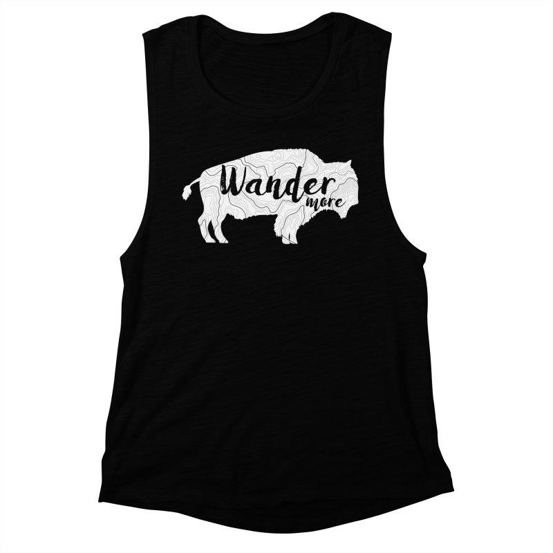 The Wandering Buffalo Women's Muscle Tank by Wanderluster
