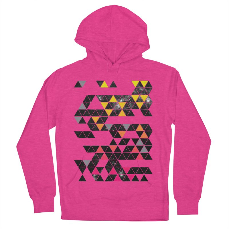 Gradient Space Men's French Terry Pullover Hoody by expo's Artist Shop
