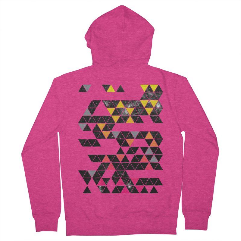 Gradient Space Women's French Terry Zip-Up Hoody by expo's Artist Shop
