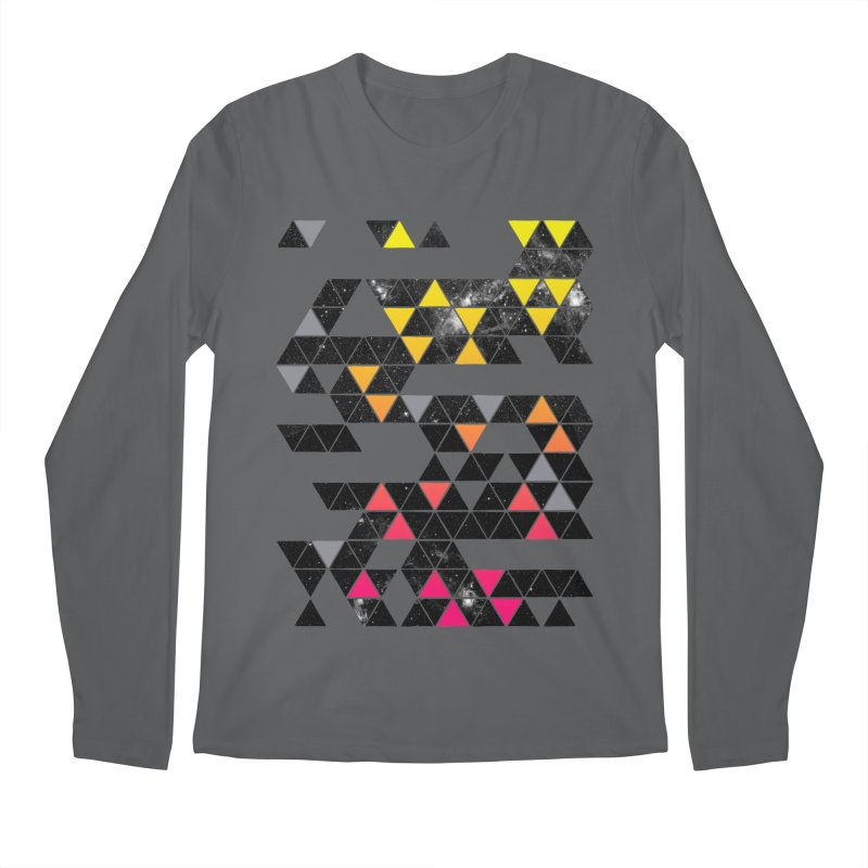 Gradient Space Men's Longsleeve T-Shirt by expo's Artist Shop